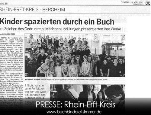 Presse Artikel im Rhein Erft Kreis