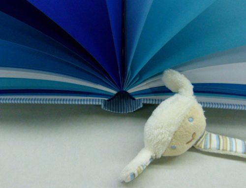 Kinderalbum mit Blauen Seiten
