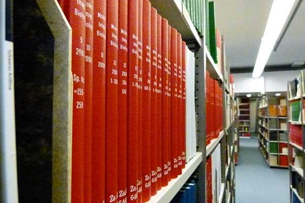 Buchbinerei Zimmer Bibliothekseinbände