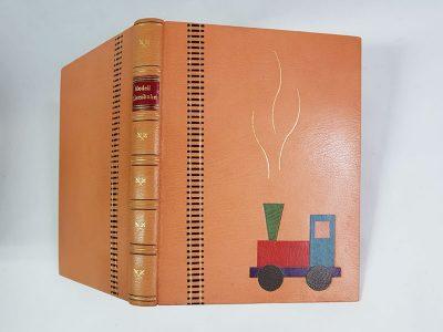 Bibliophiler Einband – Modelleisenbahn 3