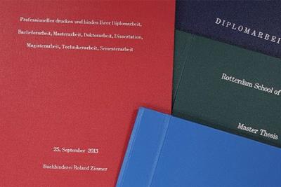 Buchbinder Roland Zimmer Masterarbeit Binden